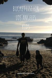Bucket List for Los Angeles Kids