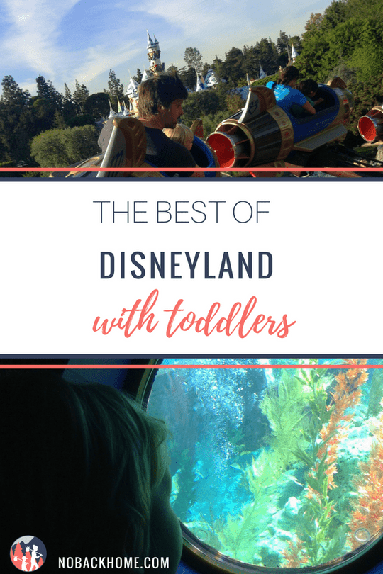 The best of Disneyland with toddlers - where to beat the heat and what to do!