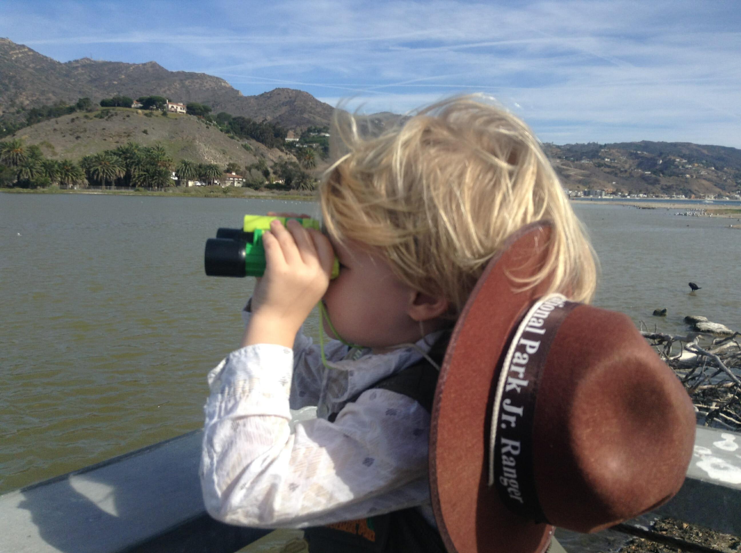 Malibu Lagoon Bird Watching With Kids
