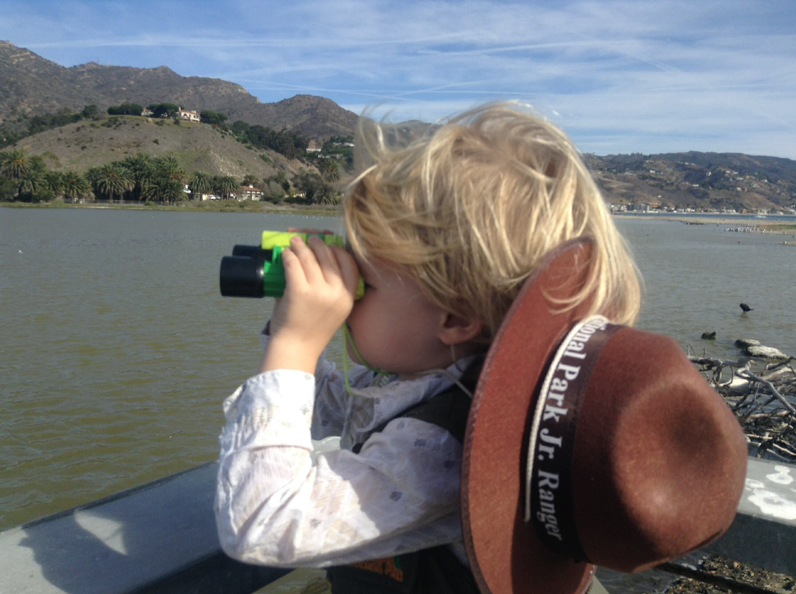 Malibu Lagoon Bird Watching With Kids