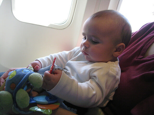 Preparing For Baby's First Flight