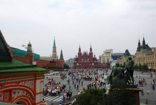 view over red square