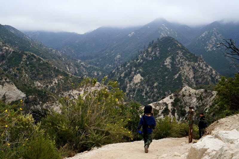 Switzer Falls Hike With Kids