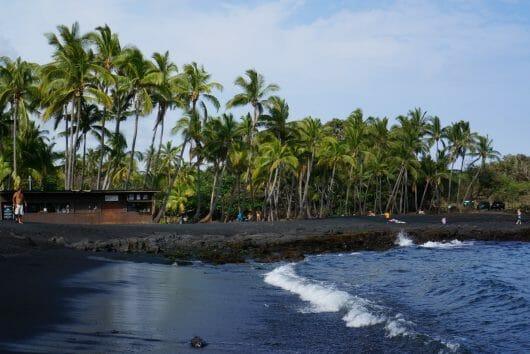 Black Sand Beach, Hawaii's Big Island