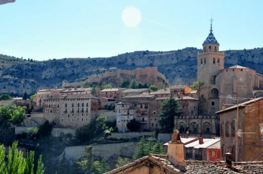 Albarracin, Madrid to Barcelona