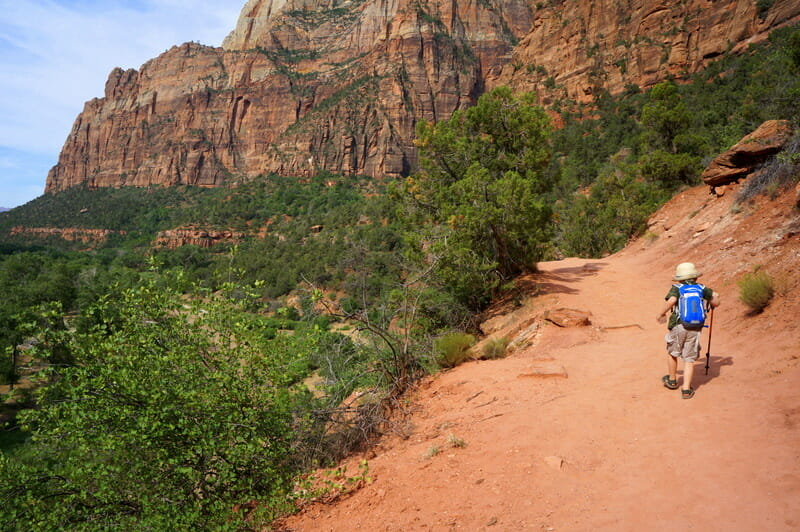 Kayenta Trail, Exploring Zion National Park