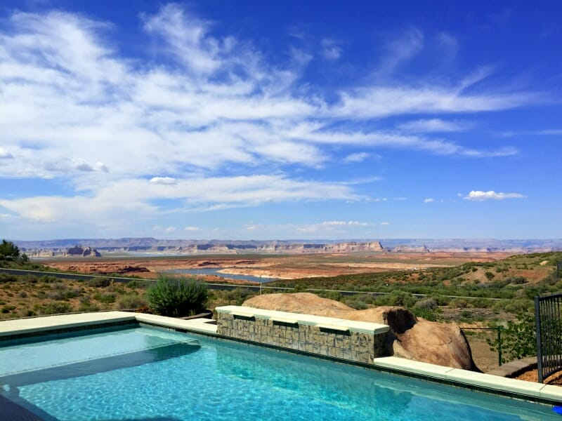 The best place to stay in Page Arizona is at an Airbnb or VRBO