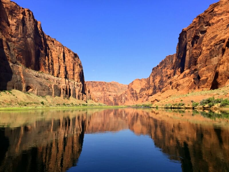 Colorado River Discoveries Boat Tour is one of the best things to do in Page Arizona with kids