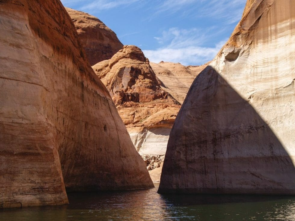 Kayaking is a great thing to do in Page AZ during the summer