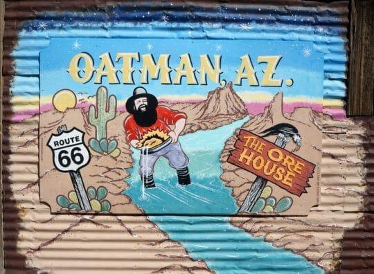 Oatman Arizona, Route 66