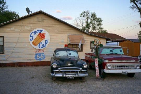 Snow Cap, Seligman Route 66