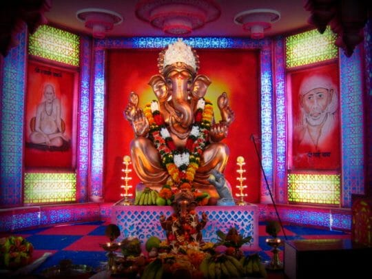 Celebrating Ganesh Chaturi