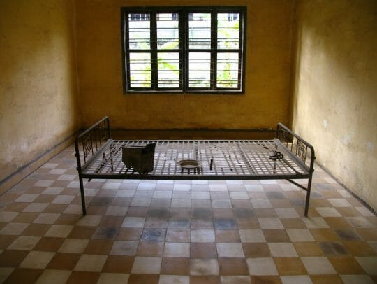 Former school used as a prison, now a museum. Cambodia in Photos