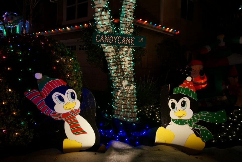 Candy Cane Lane - Los Angeles Holiday Activities and Events