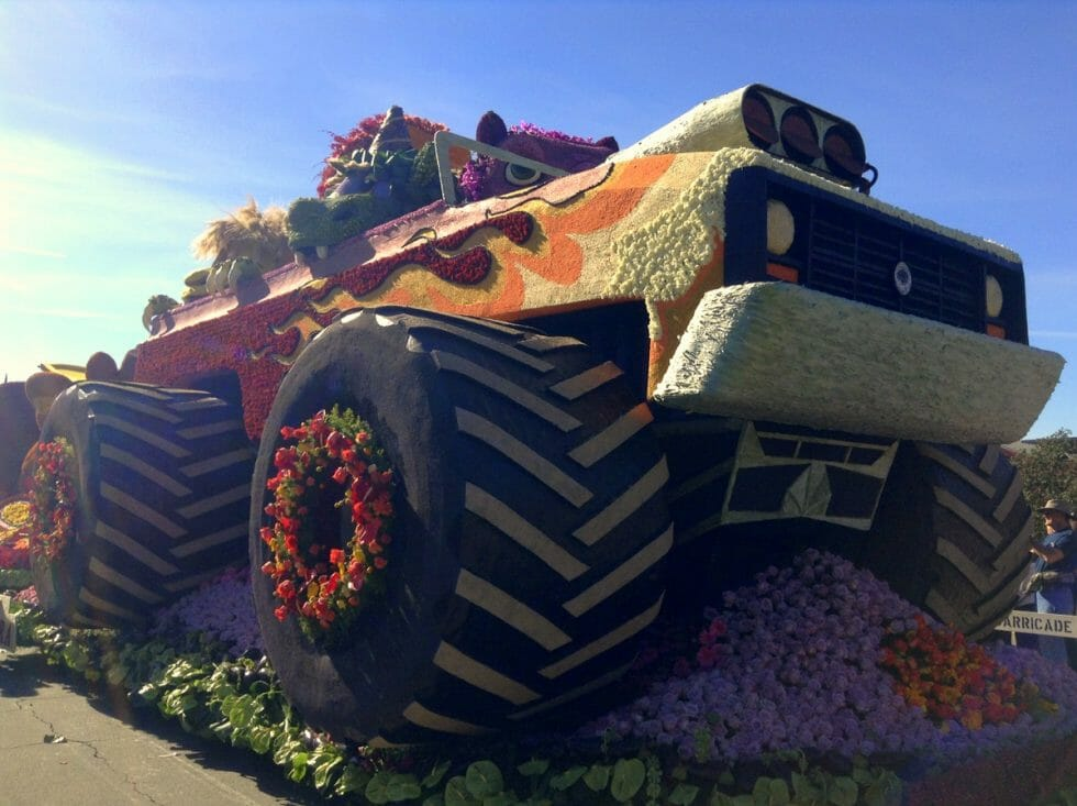 Rose Bowl Float - Los Angeles Holiday Activities & Events