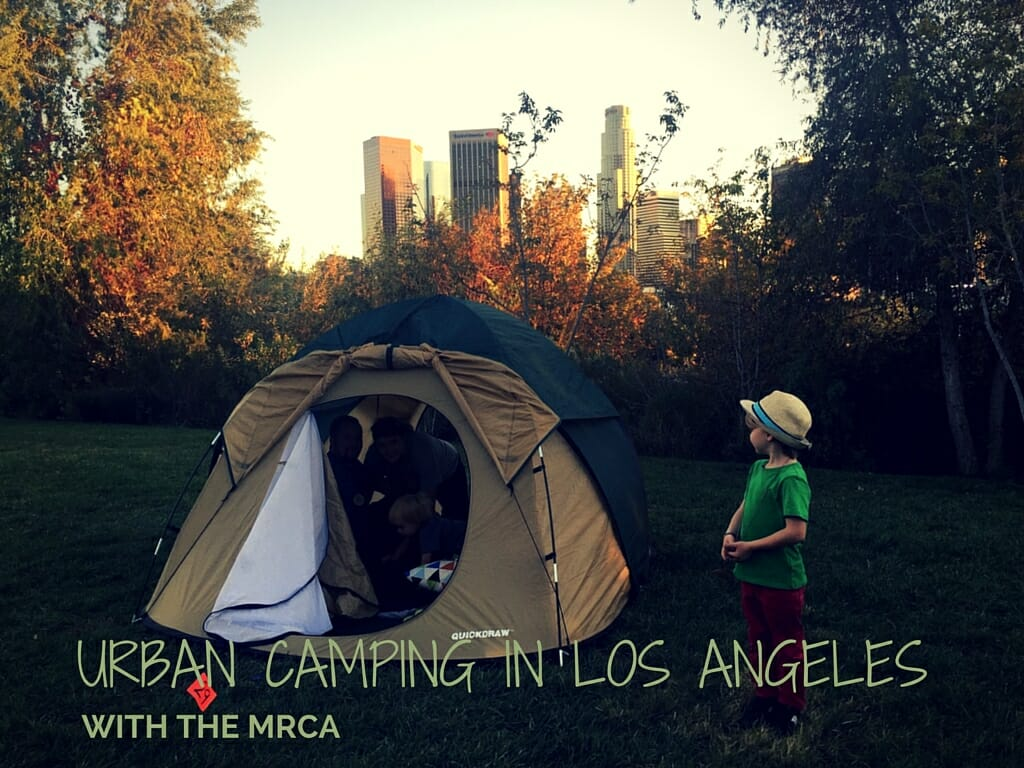 Urban Camping In Los Angeles With The MRCA