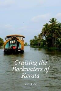 Cruising the Backwaters of Kerala (India)