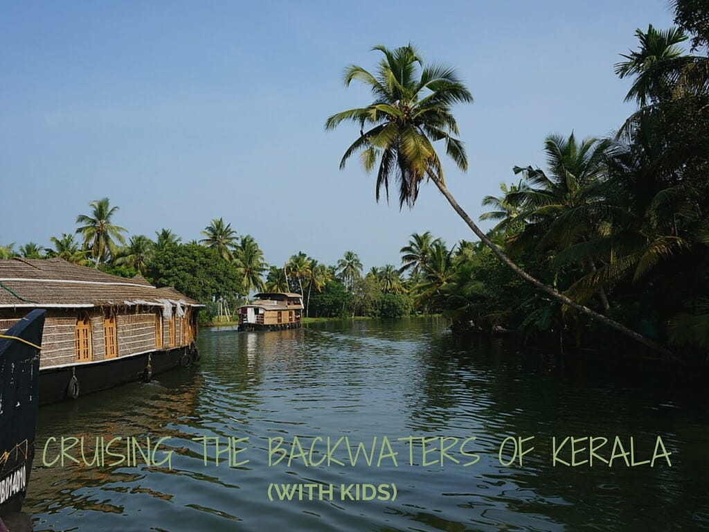 Cruising The Backwaters Of Kerala (with Kids)