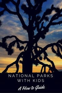 National Parks with Kids: A how to guide