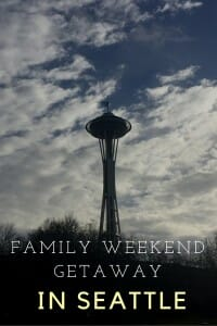 A Family Winter Weekend Getaway in Seattle