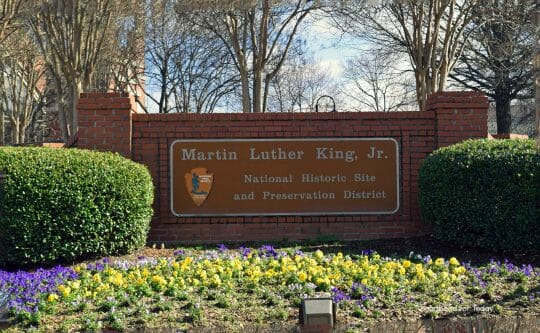 MLK King Historical Center and National Park