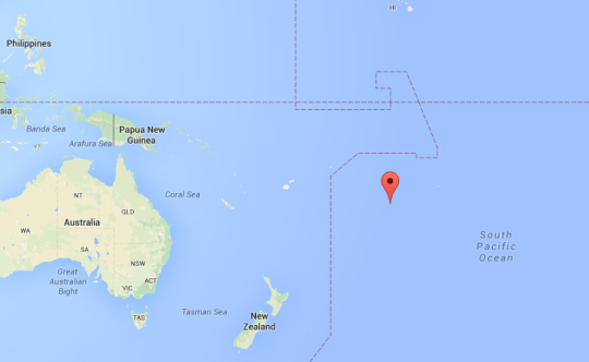 Let's Go to the Cook Islands - Map of the Cook Islands