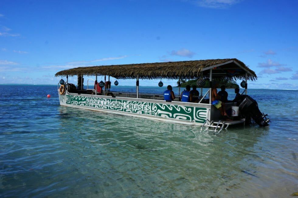 Glass Bottom Boat Tour is a great thing to do in the Cook Islands