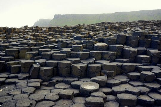 Exploring Giant's Causeway in Northern Ireland