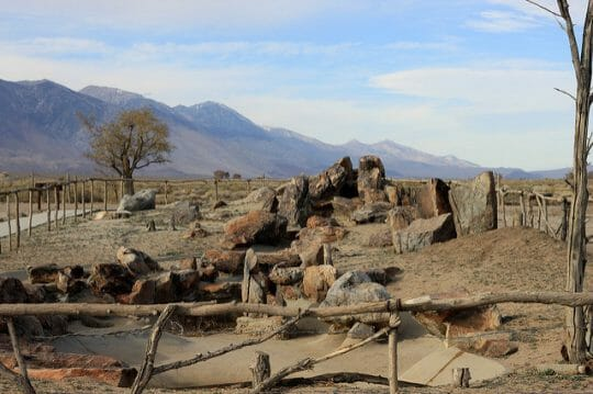 Visiting Manzanar Historic Site with kids