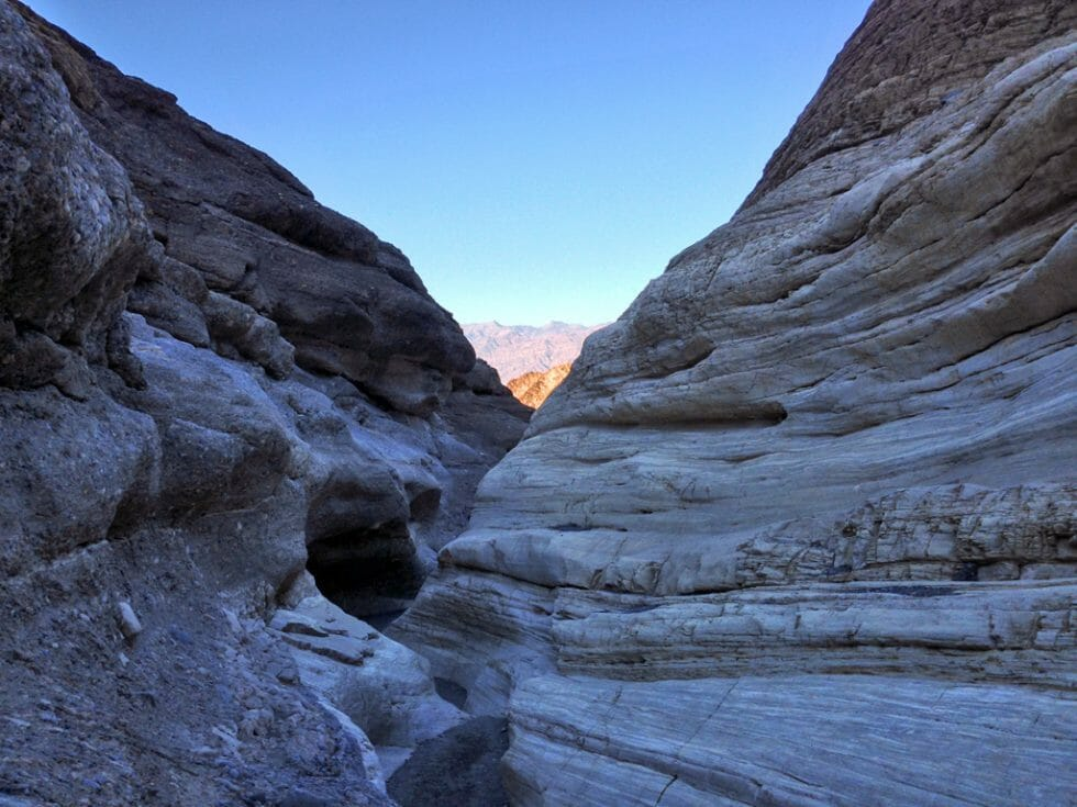 Mosaic Canyon - What to do in Death Valley with Kids