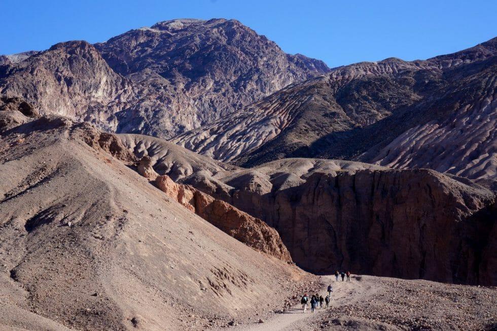 Natural Bridge - Death Valley with Kids
