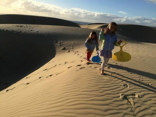 Oceano Sand Dunes, Pismo Beach