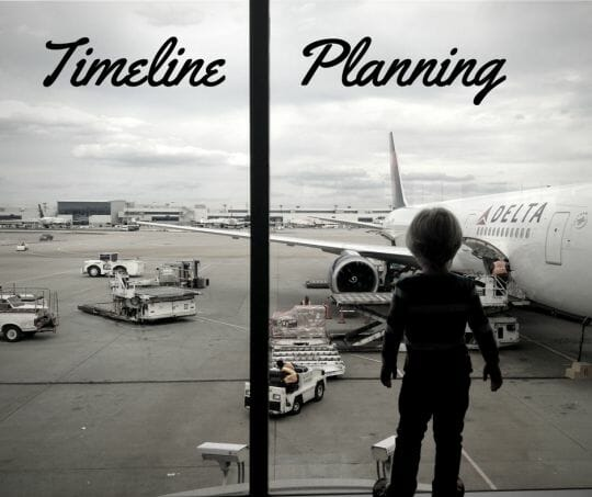 Timeline Planning: Checklists for Travel