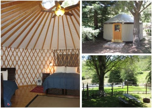 Glamping in Southern California - No Back Home