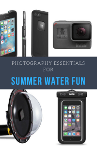 Summer Photography Essentials for Water Fun