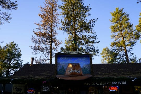 Shopping in Idyllwild