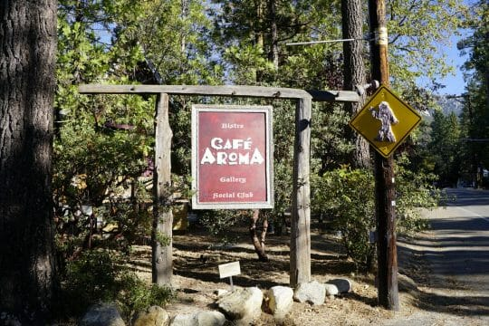 Where to eat in Idyllwild - Cafe Aroma