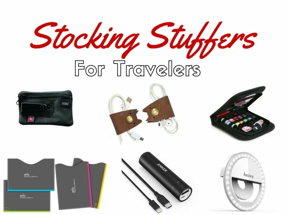 20 Stocking Stuffers for Travelers