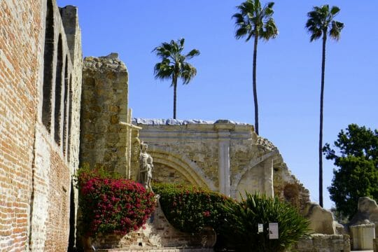 Visiting Mission San Juan Capistrano with Kids