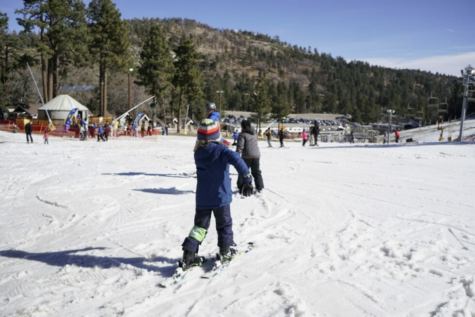 Best Beginner Skiing Near Los Angeles