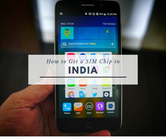 how to get a SIM chip in India