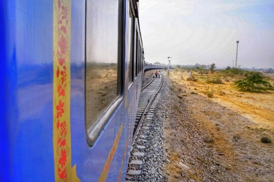 Palace on Wheels train journey through Rajasthan