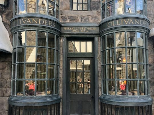 Get a wand at the Wizarding World of Harry Potter