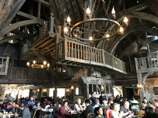 Eat at the Three Broomsticks at Wizarding World of Harry Potter