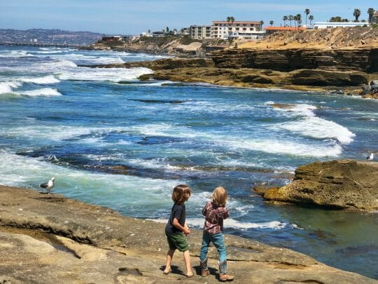 Best area to stay in San Diego is in the Sunset Cliffs area.