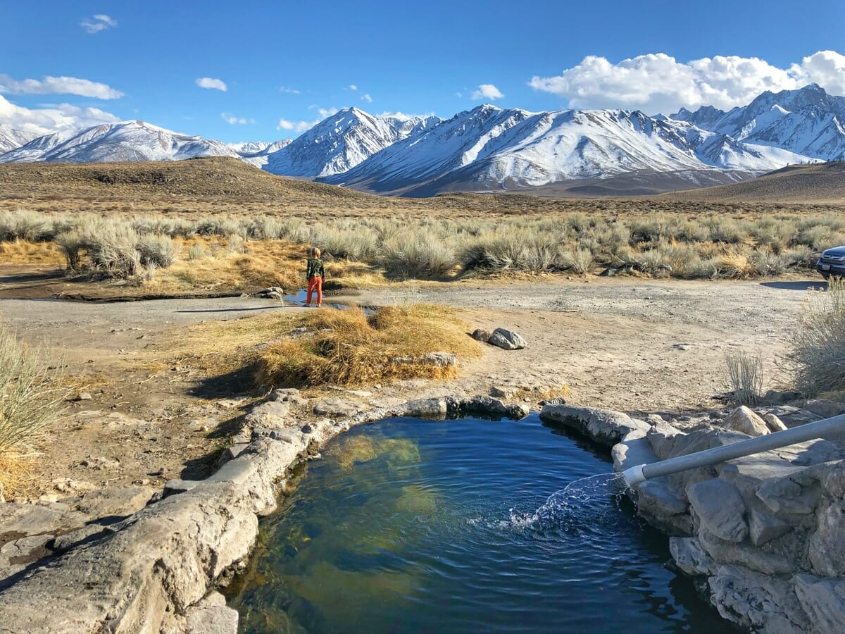 The Best Natural Hot Springs Near Mammoth