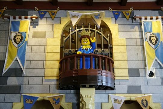 Legoland Castle Hotel California