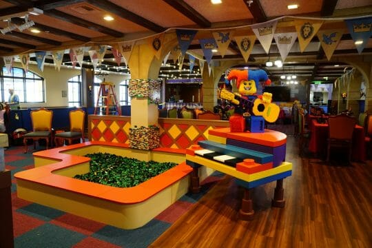 Dragon's Den at the LEGOLAND Castle Hotel California
