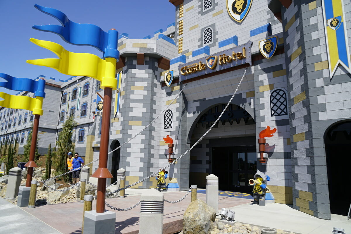 Staying At LEGOLAND Castle Hotel California