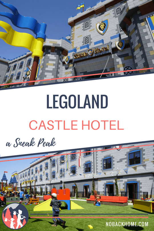Get a sneak peak at Legoland's new Castle Hotel in California. A fun family friendly hotel that is worth visiting on its own!